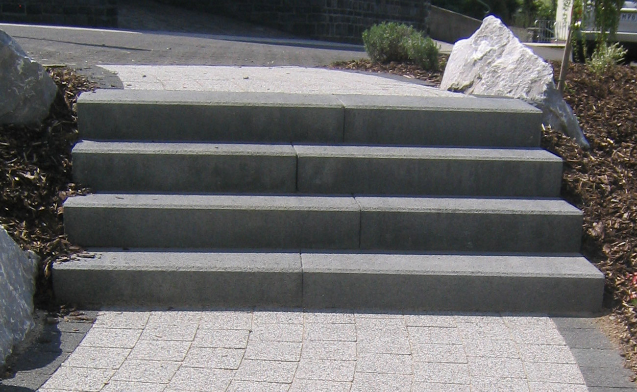 blockstufen treppe